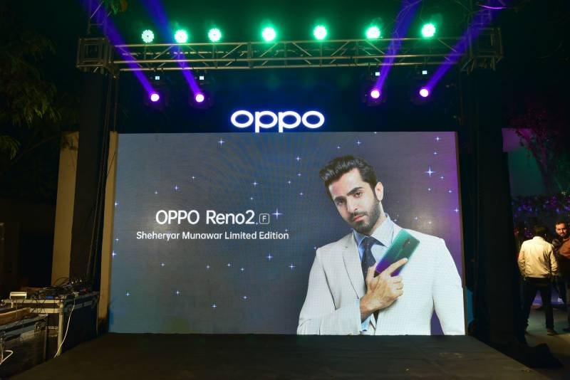 OPPO introduces Reno2 F Shahryar Munawar Special Edition in Pakistan: price, colour, specification
