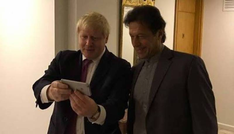 PM Imran felicitates UK's Boris Johnson over resounding election victory