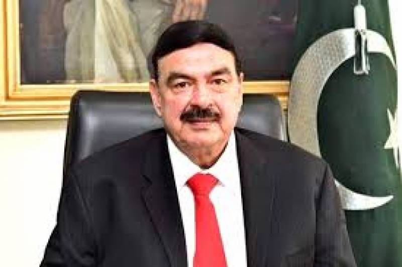 Man attempts to throw eggs at Sheikh Rasheed in Sargodha