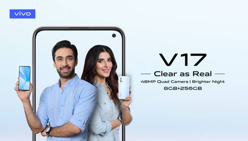 Vivo launches the Vivo V17 with 256 GB storage in Pakistan; price, sale info