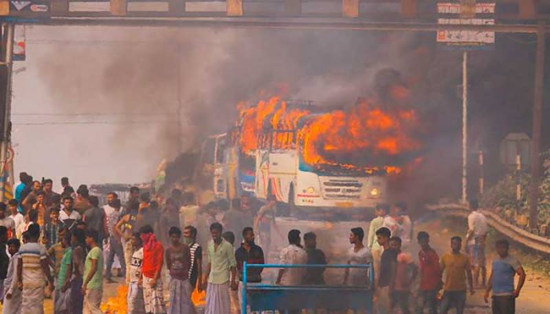 Five dead in protests against Indian citizenship law