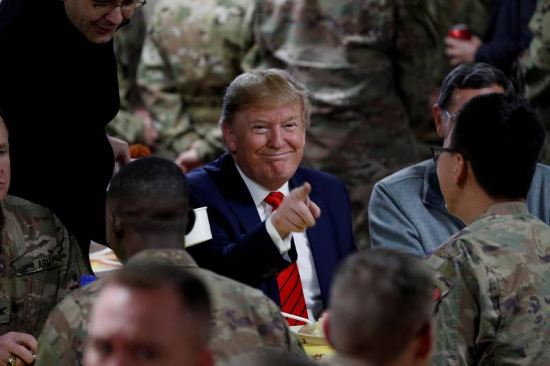 Trump 'to announce withdrawal of over 4,000 troops from Afghanistan soon'