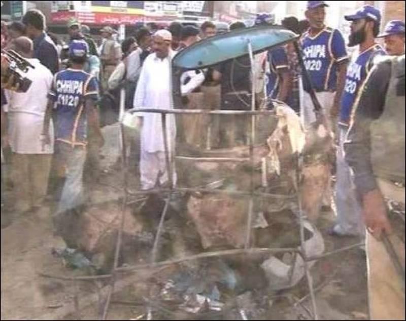 7 injured in cylinder blast outside Peshawar High Court