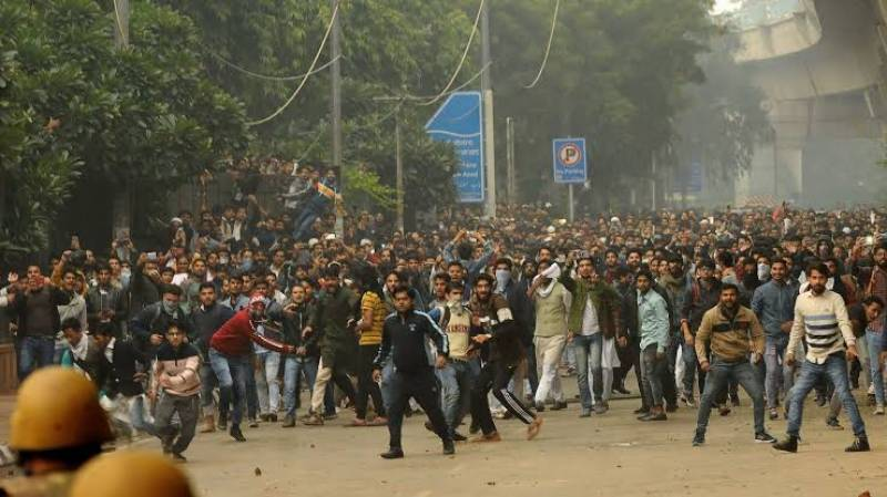 More than 100 injured during clashes over anti-Muslim citizenship law in India