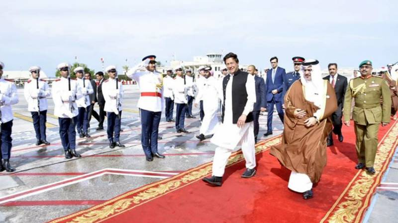 PM Imran in Bahrain to attend National Day ceremony