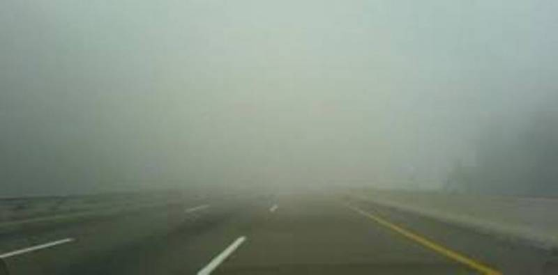 Various sections of Motorway closed due to dense fog
