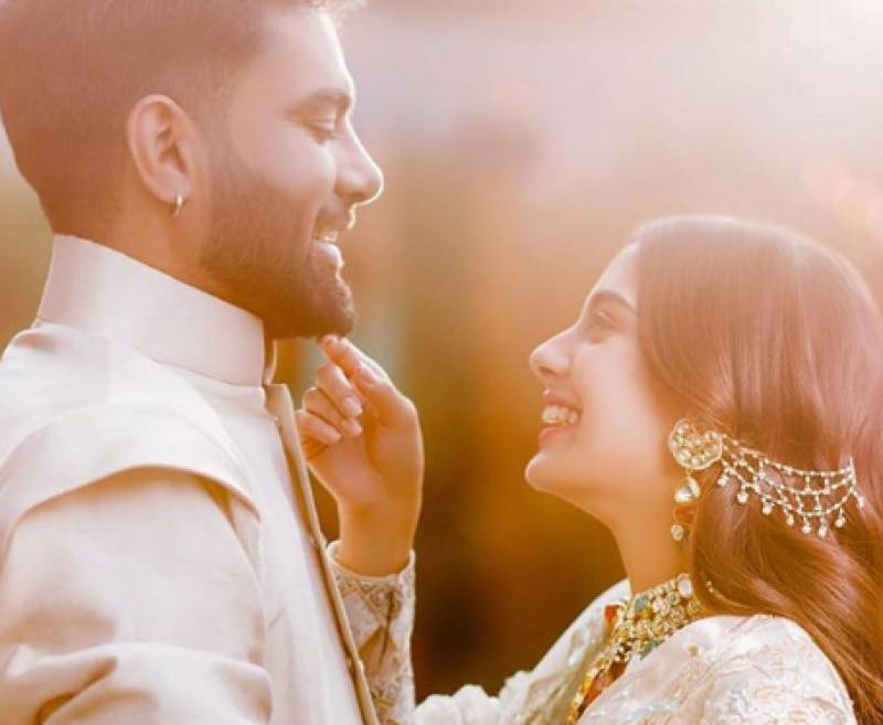 Wedding countdown begins for Iqra Aziz, Yasir Hussain
