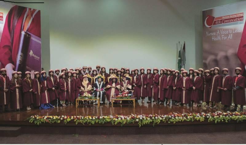 Shalamar Nursing College holds 4th convocation ceremony, confers degrees on 92 graduates