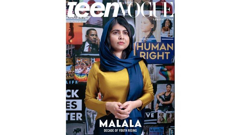 Malala is on Teen Vogue's 'Cover of The Decade'
