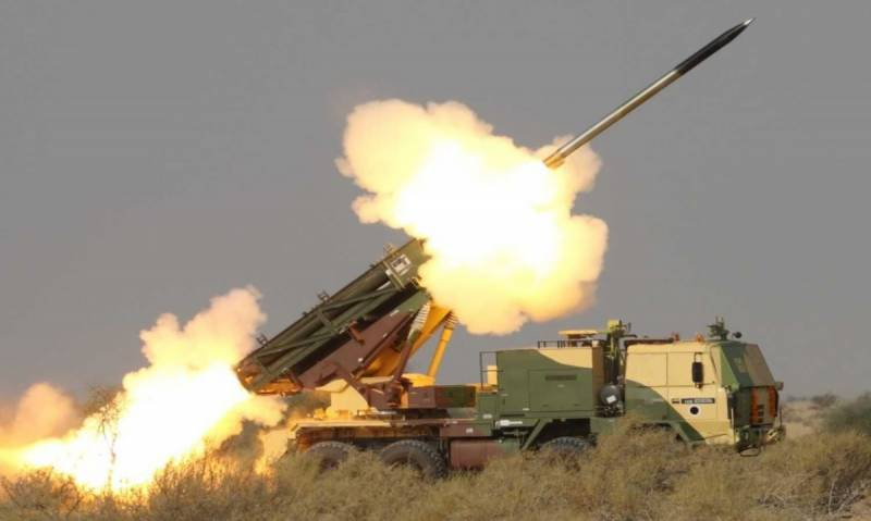 India test-fires Pinaka guided missile system
