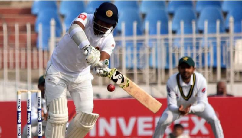 Sri Lanka take 60 runs lead in 2nd day of Karachi Test