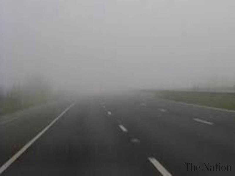 Dense fog blankets parts of Punjab