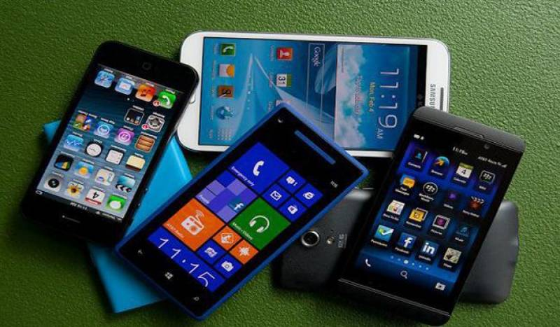 Mobile phones import increases over 63% in 5 months