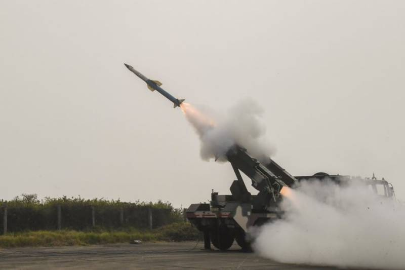 India test-fires Quick Reaction Surface to Air Missile system amid warmongering against Pakistan