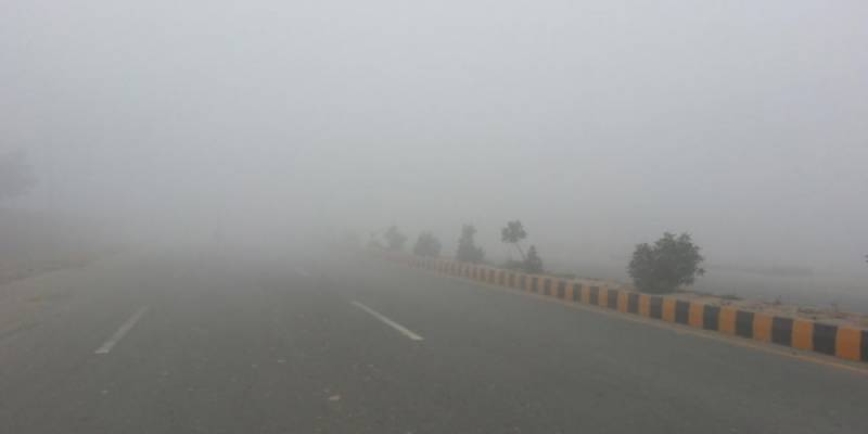 Motorway sections closed for traffic after dense fog blankets parts of Punjab