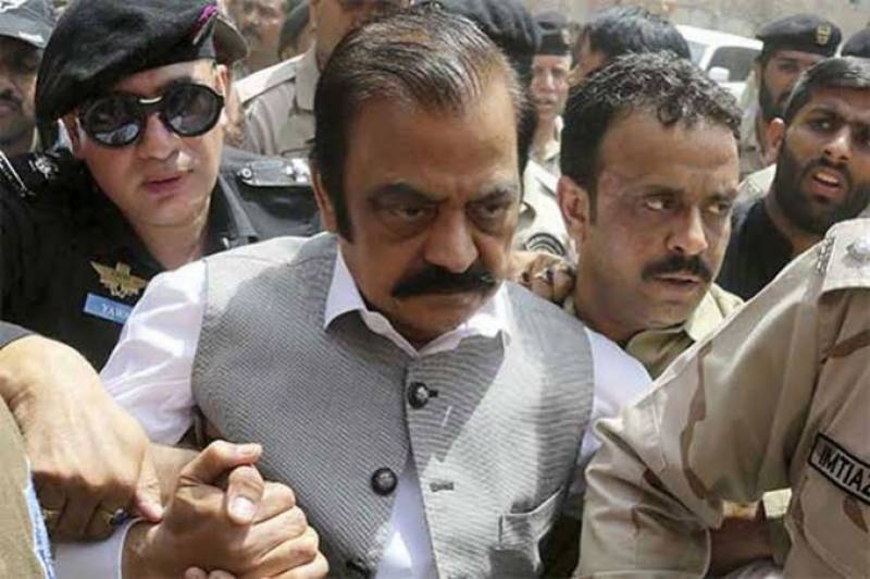 PML-N's Rana Sanaullah gets bail from LHC in narcotics case