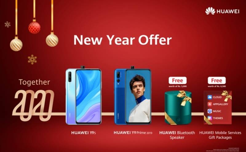 Ring in a loud New Year with the HUAWEI Y9 family