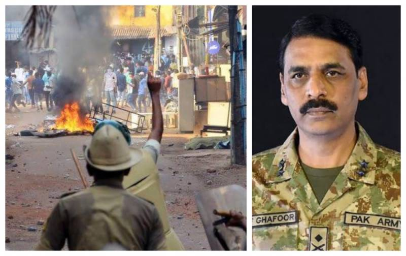 """Beginning of End,"" Pakistan's military spokesman on new wave of Indian protests against Modi"