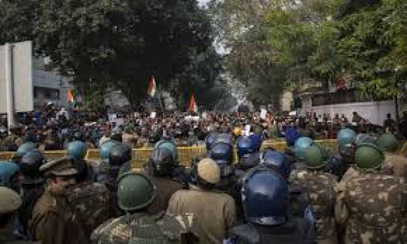 India beefs up security to stop protests on Christmas eve against anti-Muslim citizenship law