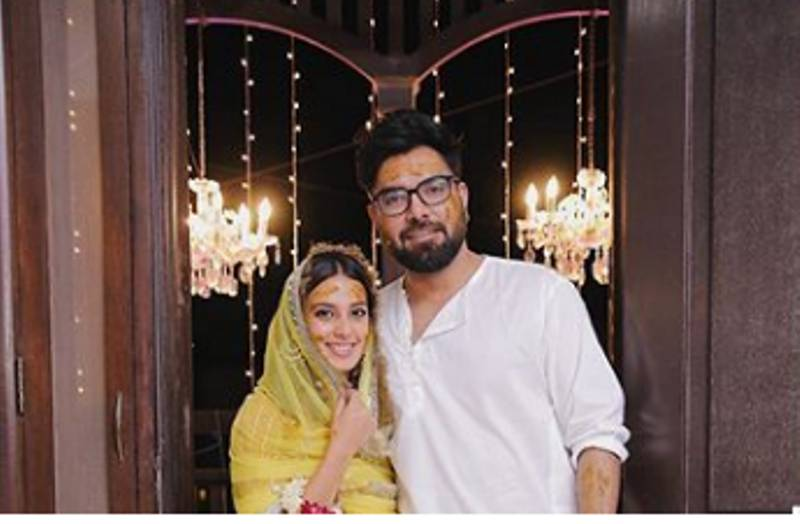 Yasir Hussain, Iqra Aziz kick off wedding festivities