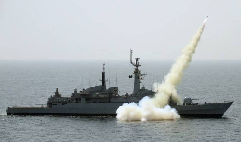 Pak Navy successfully demonstrates firing of different missiles in Arabian Sea, Makran Coast