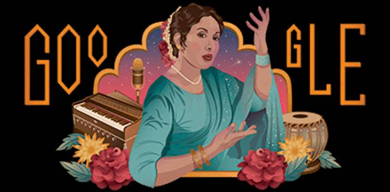 Google pays tribute to Iqbal Bano with a doodle