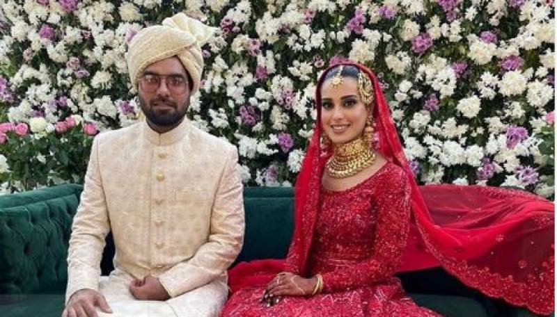 Yasir Hussain and Iqra Aziz are finally married