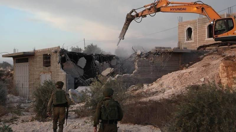 Israel razed and seized 617 Palestinian structures since January: UN report