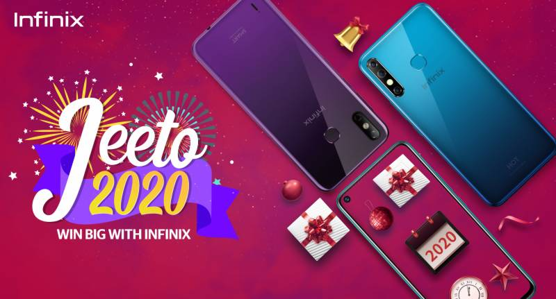 Celebrate New Year with Infinix Jeeto 2020