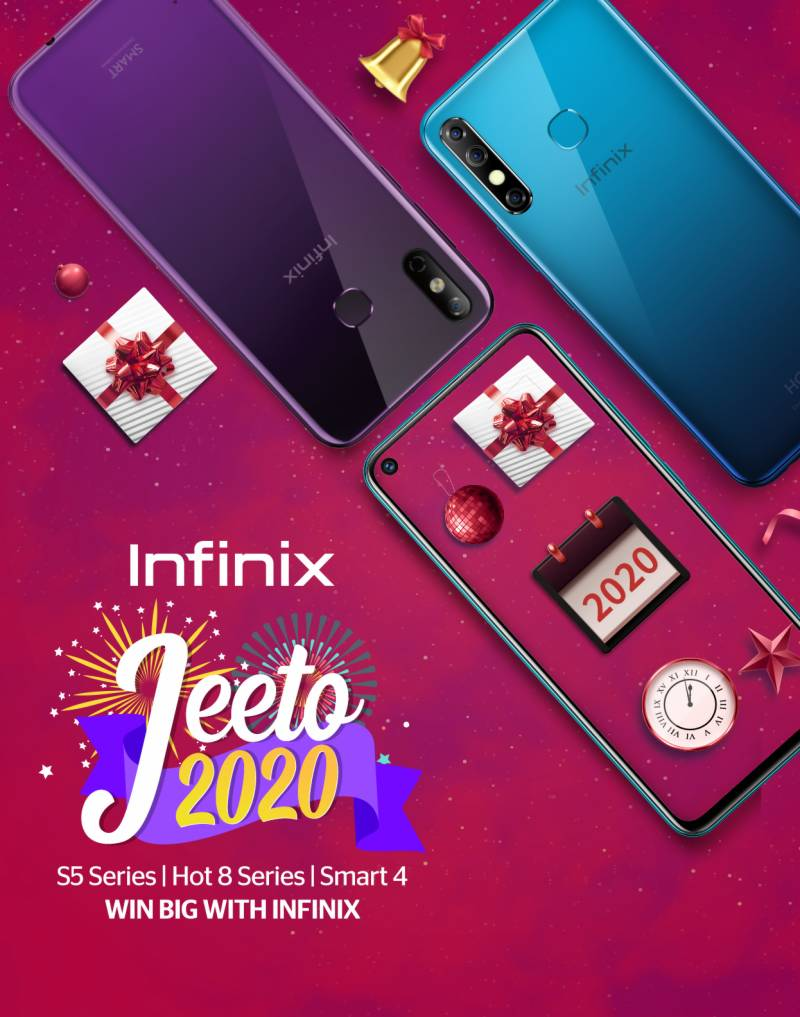 Celebrate New Year with Infinix Jeeto 2020