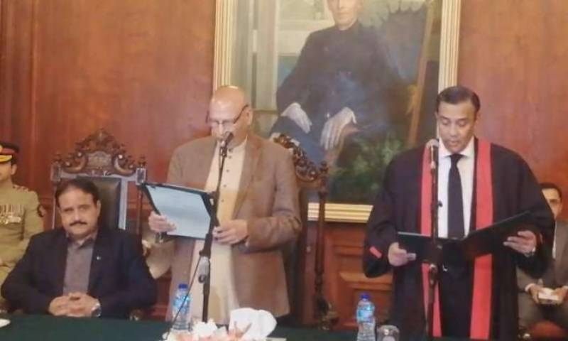 Justice Mamoon Rashid takes oath as new LHC CJ