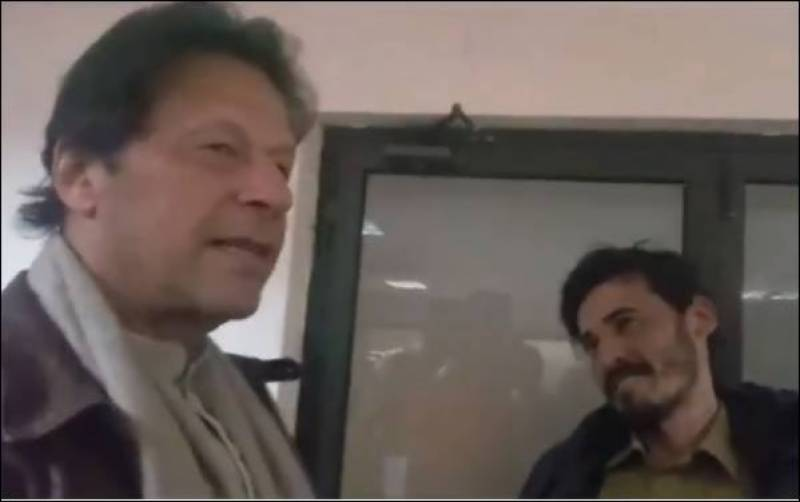PM Imran pays surprise visit to shelter home in Islamabad