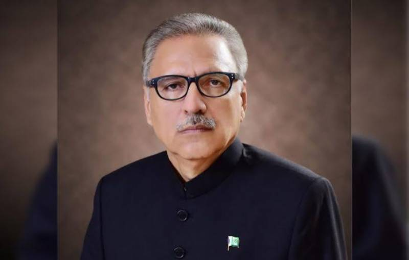 President Arif Alvi wishes happy 'New Year' to all
