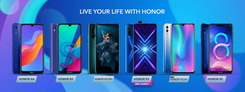 HONOR Pakistan outdoes itself with breakthrough releases in 2019