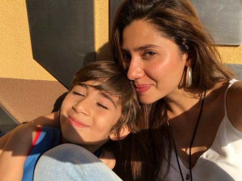 Becoming a mother is the best memory of the decade for Mahira Khan