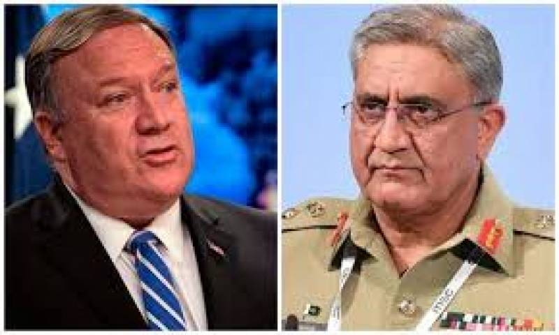 Pompeo speaks to Pakistan's COAS Bajwa as tension between US, Iran spikes