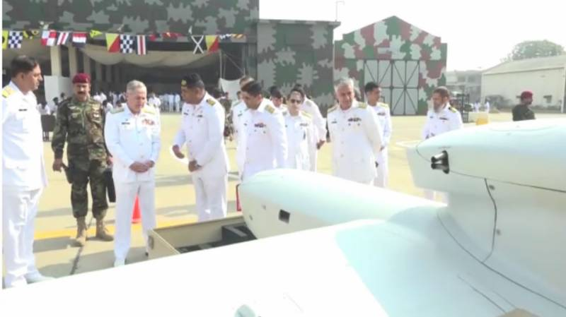Pakistan inducts high-tech maritime patrol aircraft, drones into Navy's aerial fleet
