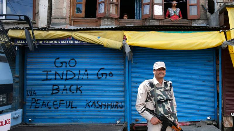Kashmiris observe Right to Self-Determination Day