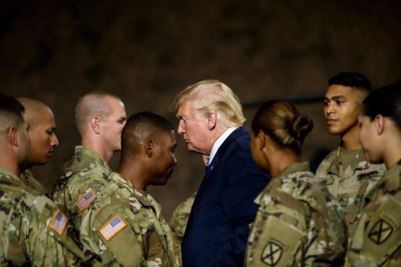 Trump ready to use 'brand new beautiful' military equipment against Iran