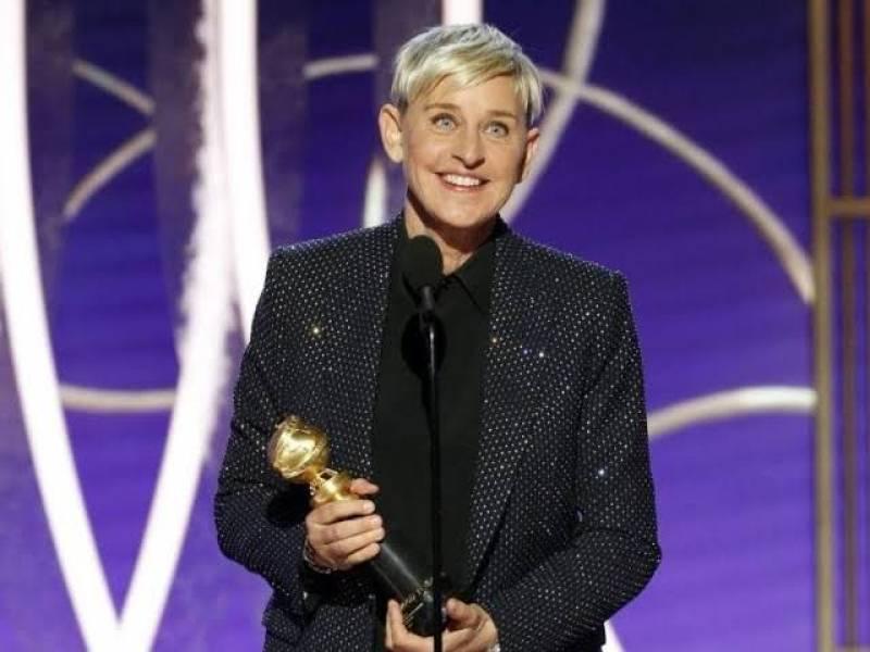 Ellen DeGeneres Receives Carol Burnett Award at 77th Golden Globes