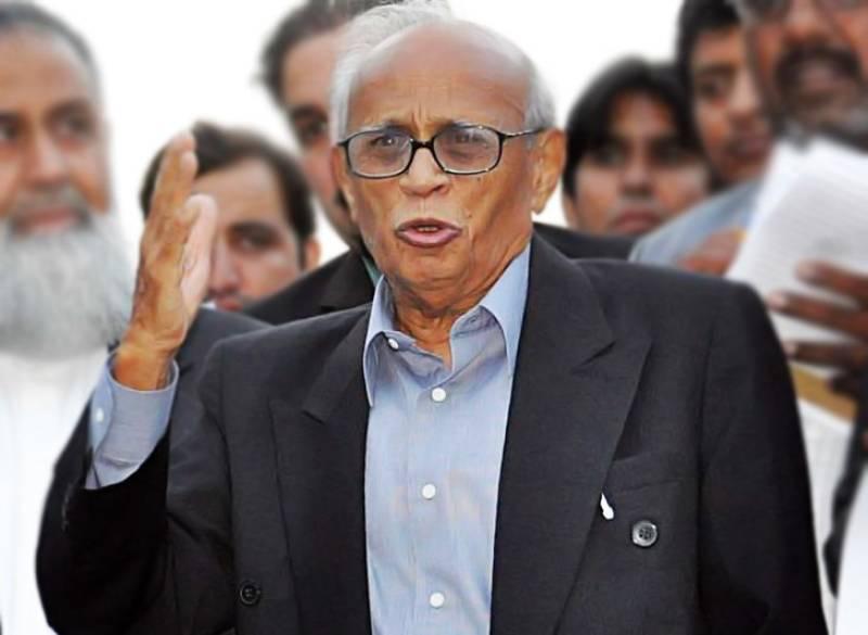 Pakistani jurist Fakhruddin G. Ebrahim dies at 91