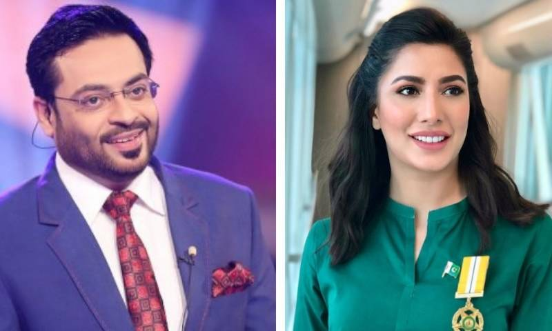 Mehwish Hayat shuts down Aamir Liaquat over harsh comments