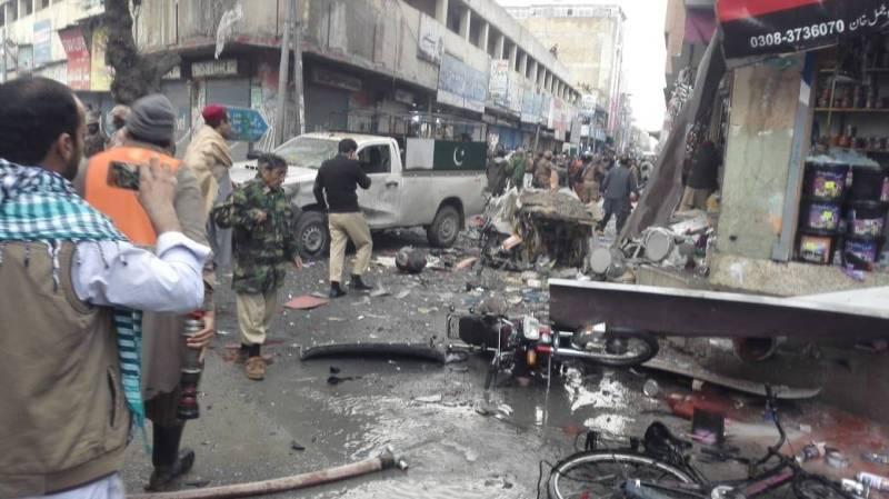 Two dead, 14 injured in Quetta blast