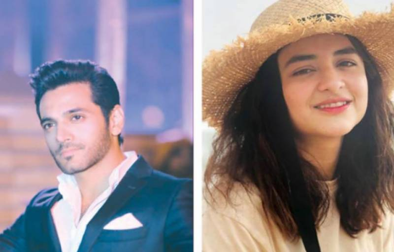 Yumna Zaidi, Wahaj ali to star in Kashf foundation's project