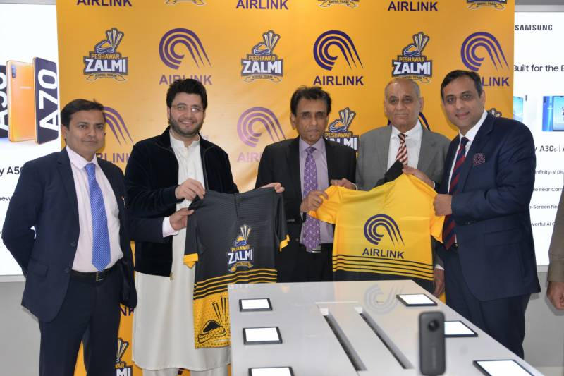 Air Link Communication and Peshawar Zalmi announce partnership to accelerate sports in country