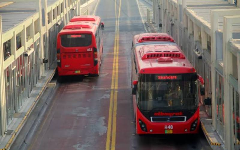 Punjab Govt increases Lahore Metro bus fare by Rs 10