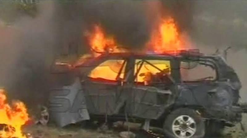 Explosion during CNG filling process kills woman in Peshawar