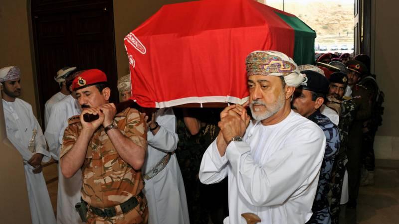Oman's Sultan Qaboos passes away at 79