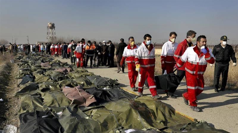 Ukraine demands punishment for Iran plane downing