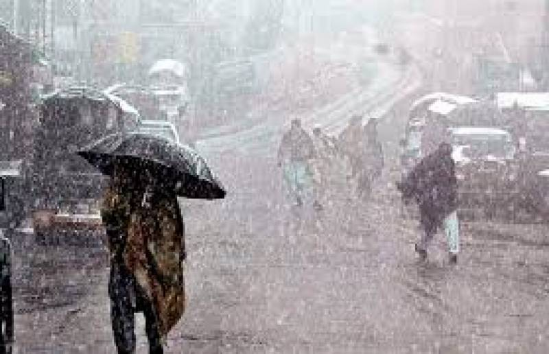 Emergecy declared in Balochistan amid heavy rains/snowfall turns weather cold in parts of the country